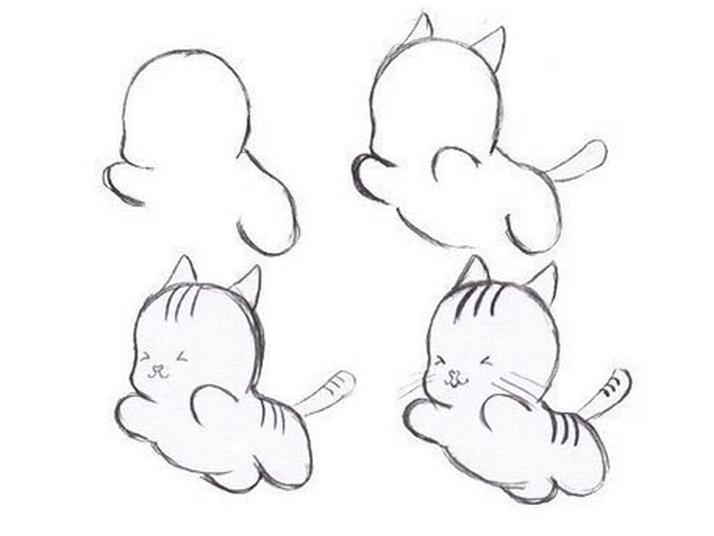 Как <b>можно</b> нарисовать котёнка   статьи по теме Киссики и Котята