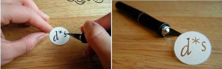 Как сделать печатку из свечки