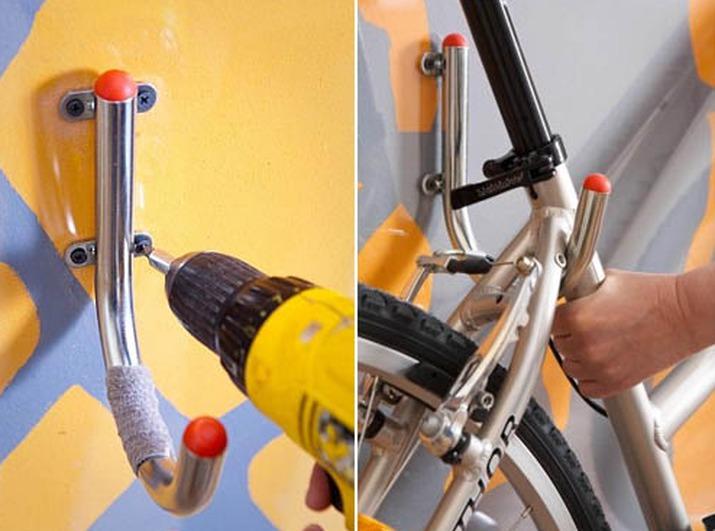 Крепление велосипедов своими руками