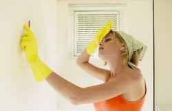 Как отмыть кафель от жира