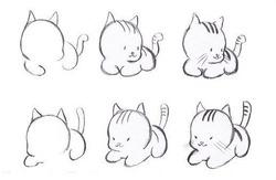 Как можно нарисовать котёнка