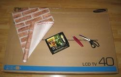 Как сделать камин из картона
