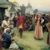 Церковный праздник красная горка